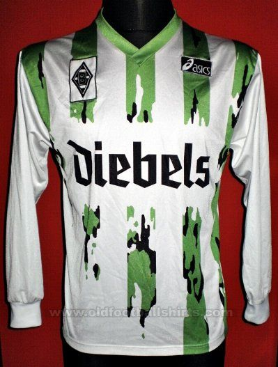 Borussia Mönchengladbach Home football shirt 1994 - 1995