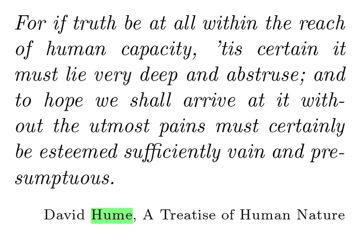 Hume In and Out of Scottish Context