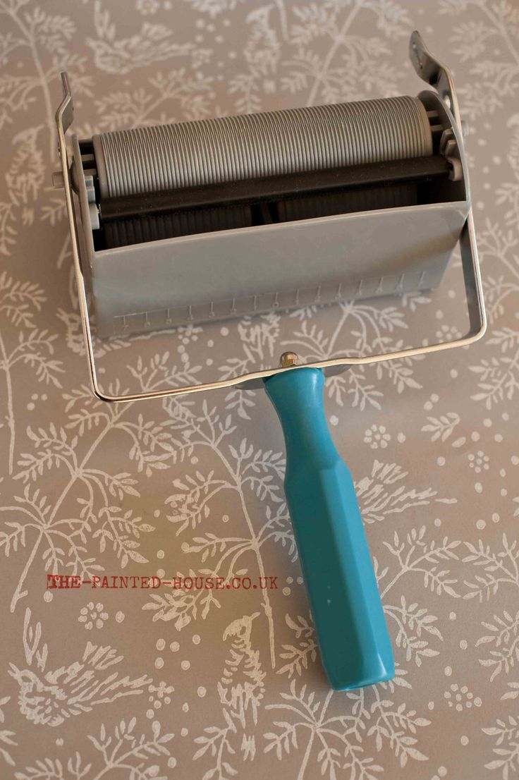 Fabric Applicator from The Painted House to use with our patterned paint rollers by patternedpaintroller on Etsy https://www.etsy.com/listing/109226535/fabric-applicator-from-the-painted-house