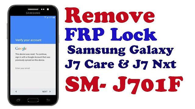 Samsung J701F FRP BYPASS J7 Core & J7 Nxt SM-J701F FRP