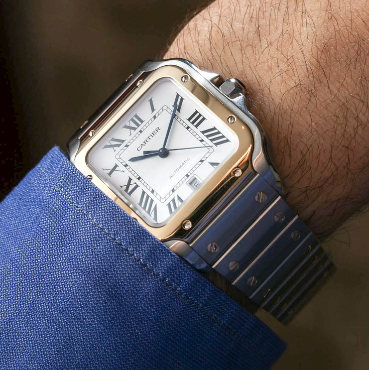 The 2018 Santos collection features a lot of exciting new things for one of Cartier's most important watch collections #SIHH2018.