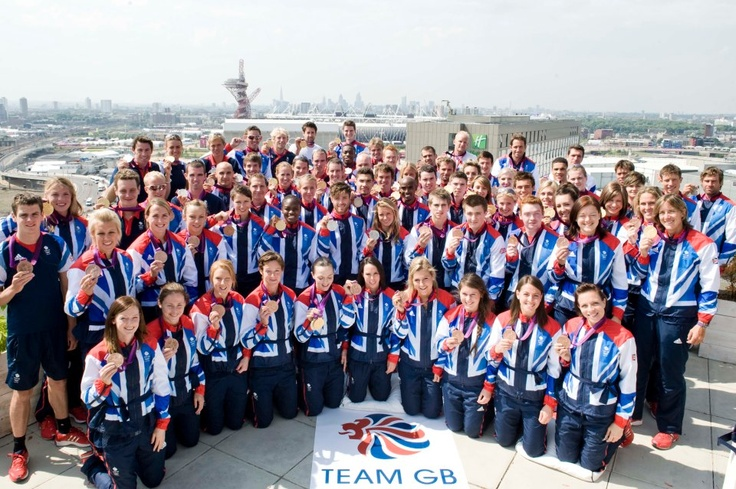 Team GB's 2012 Medal Winners - absolutely love it when the olympics are on! makes me very proud to be british!
