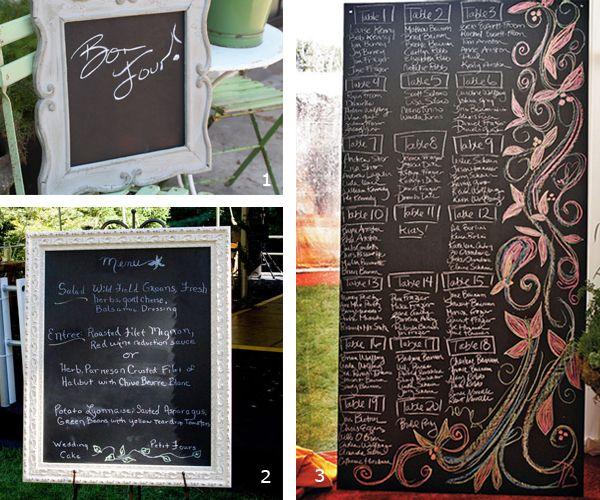 blackboard seating chart