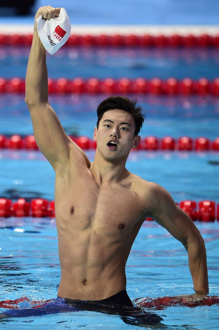 Ning Zetao @zetao.ning - Team: China Age: 23 Competition: Freestyle Known for: After winning gold in the 2015 FINA World Championships, Zetao became a social media sensation and the new object of affection of millions of fans in China.