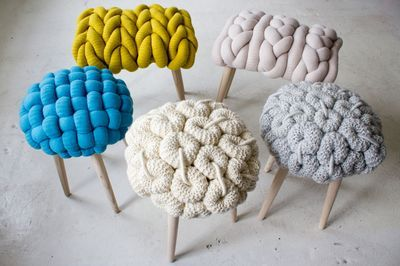 wooly stools