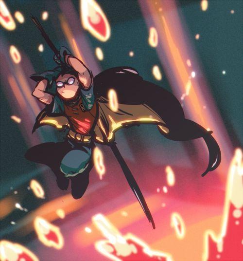 ROBIN- Damian Wayne.