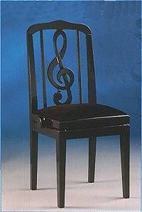 An adjustable height piano teachers chair. This would be nice in my music studio. | Piano Teacher Home Decor Ideas