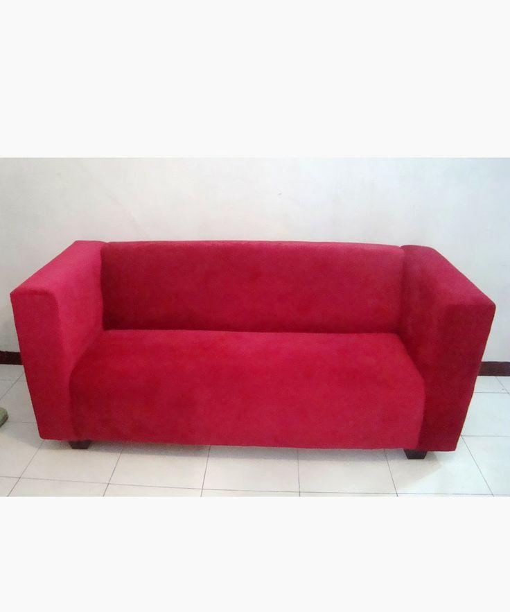 red hot chilli sofa