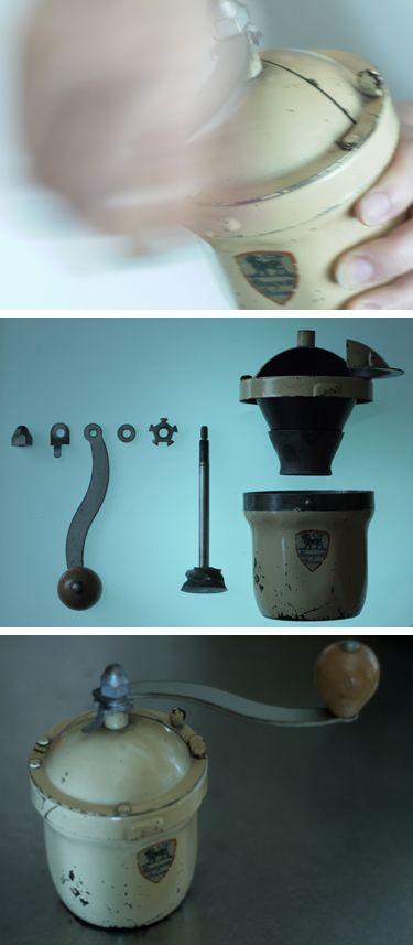 プジョー社のコーヒーミルG1