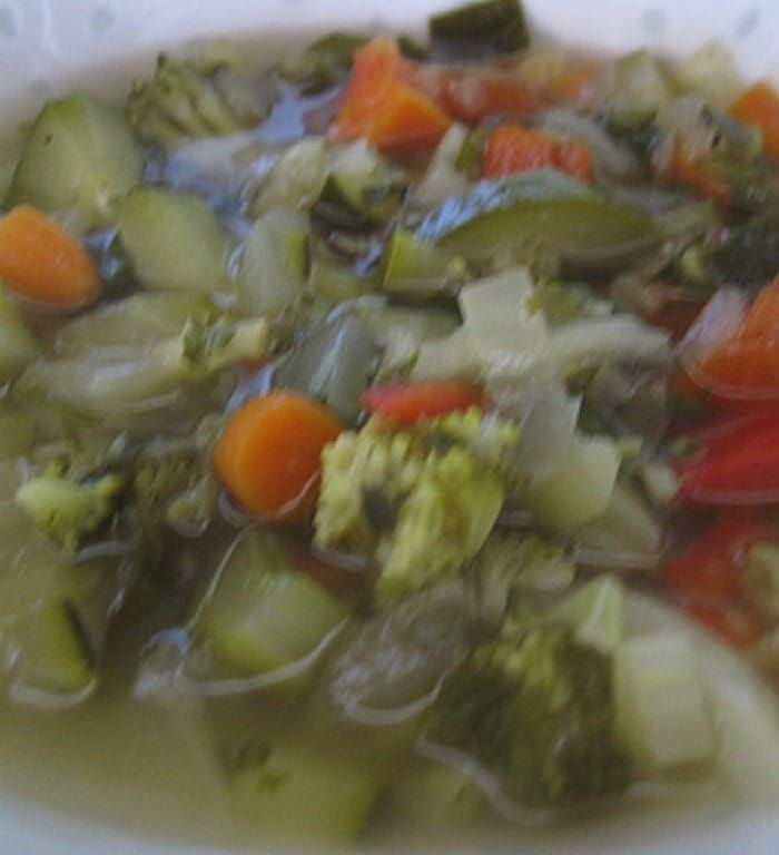 Vegetable Soup WW replace