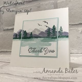 The Craft Spa - Stampin' Up! UK independent demonstrator : Waterfront ... out of the Frame...