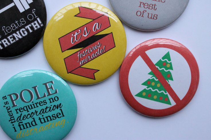 Set of 5 Seinfeld Festivus Magnets by BigYellowDogDesigns on Etsy https://www.etsy.com/listing/168578724/set-of-5-seinfeld-festivus-magnets