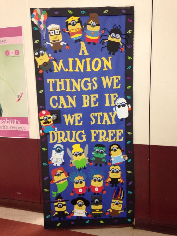 Red Ribbon Week Door Decorating Contest Ideas Elitflat