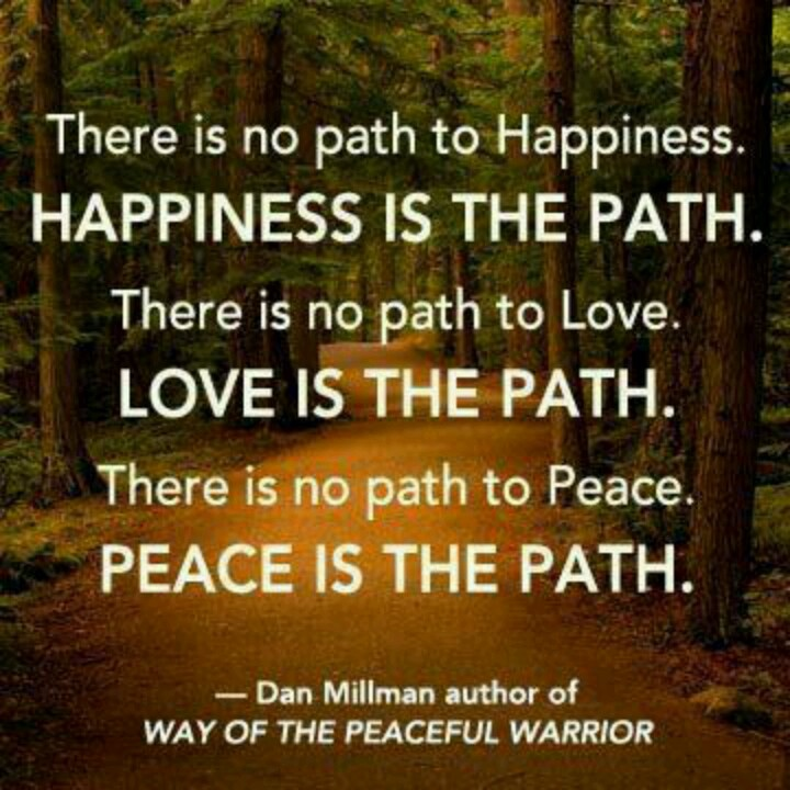 Way of the Peaceful Warrior i had this book for 10 years before i read it. . <3