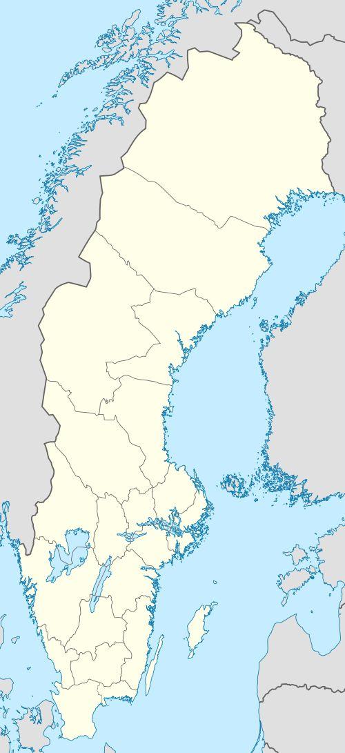 Sölvesborg is located in Sweden