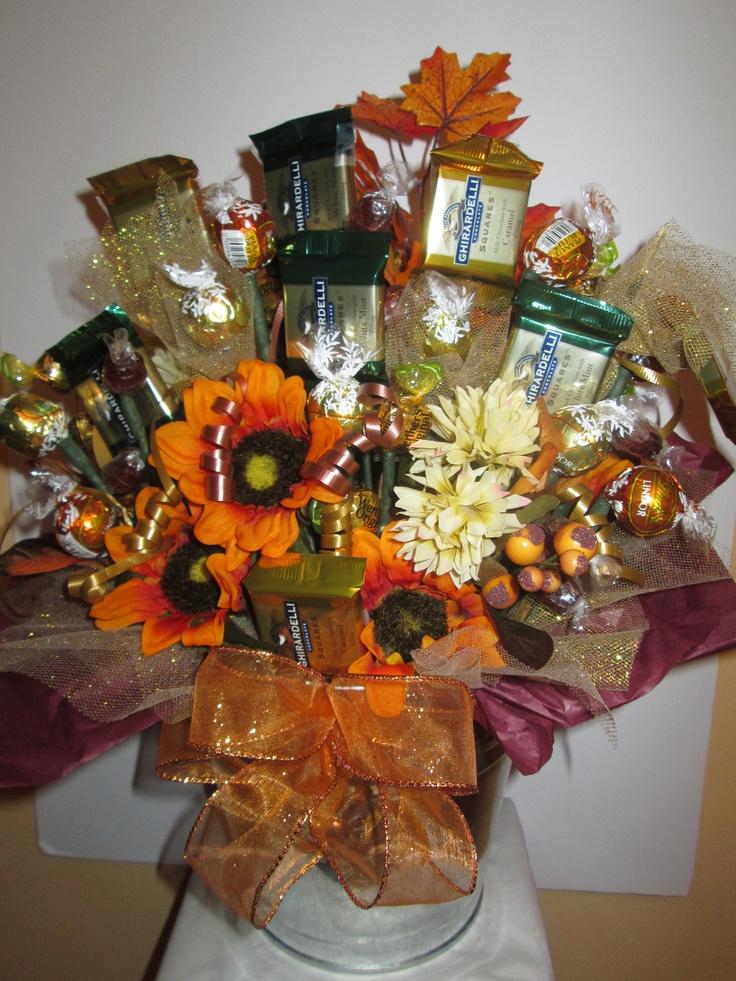 Thanksgiving bouquet bonboni candy bouquets and