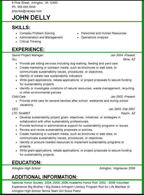 What Font Size Should A Resume Be.And Font Size 3 Resume Format Resume Format Examples