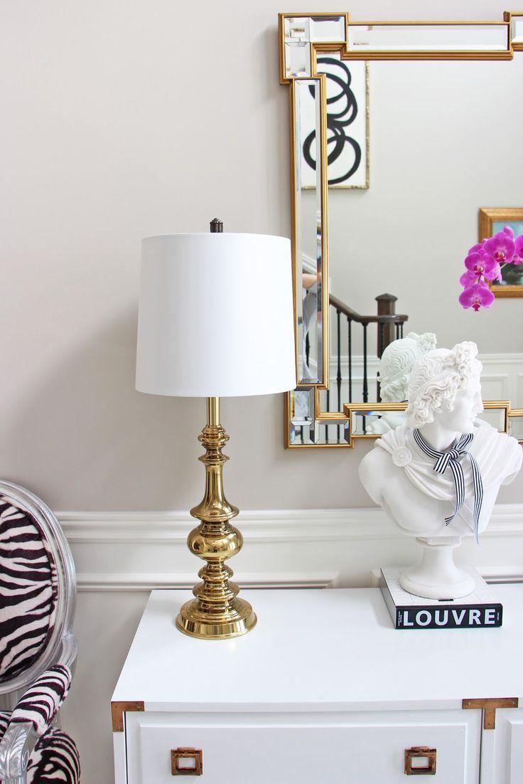 Vintage Stiffel brass lamp