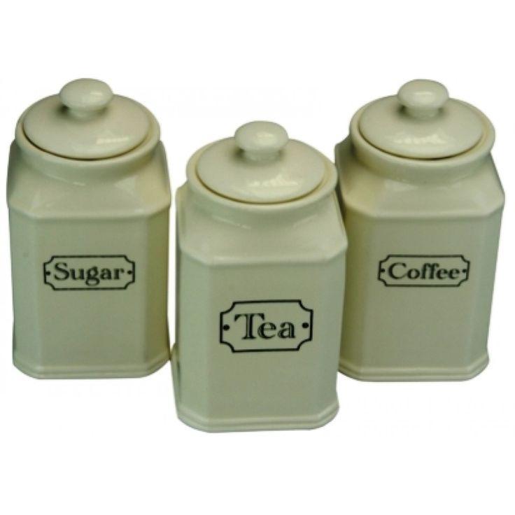 Canister Sets Canisters And Ceramics On Pinterest