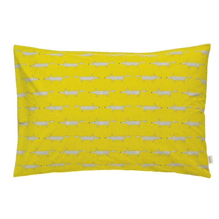 Discover+the+Scion+Mr+Fox+Housewife+Pillowcase+Pair+at+Amara