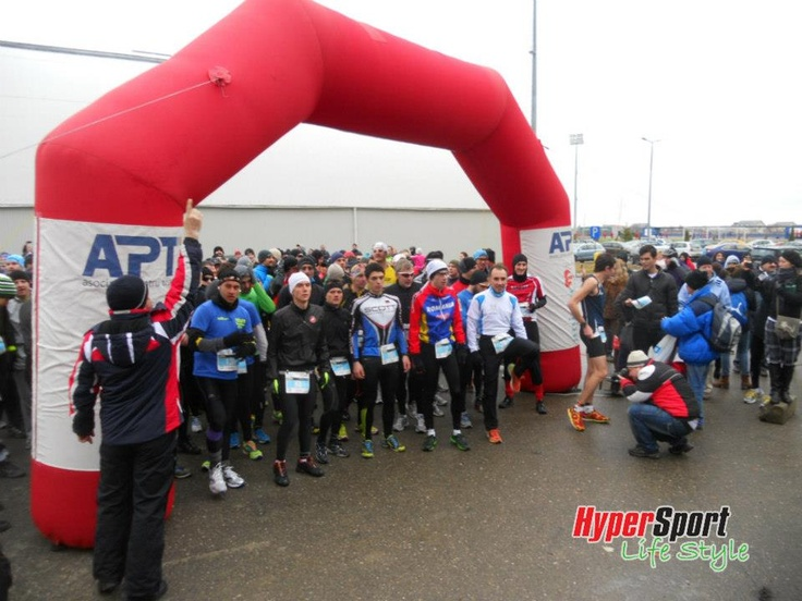 Start la Winter TriChallenge Izvorani 2013