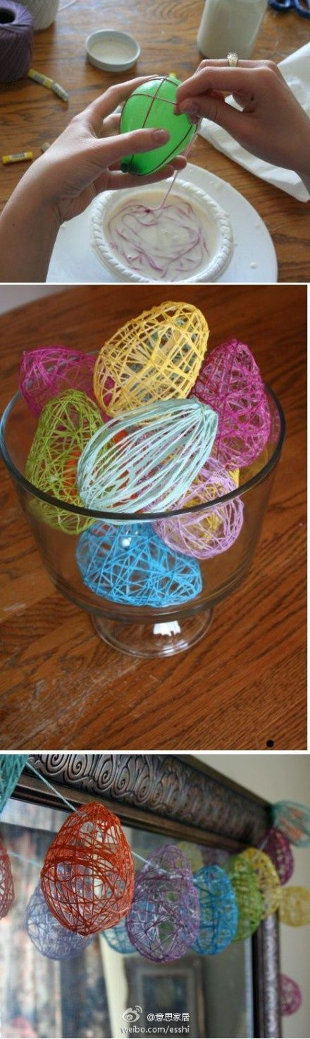 Easy Easter craft for kids using Easter eggs,  As a bonus this is a great activity to practice fine motoe skills