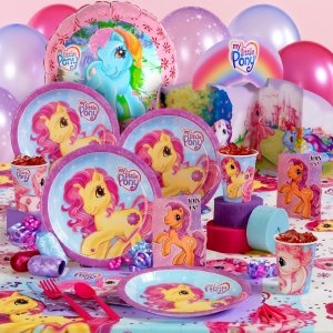 My Little Pony Party Supplies from Birthday Express
