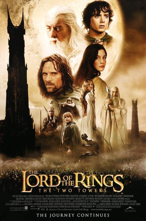 Lord Of The Rings The Two Towers 2002 One Sheet Movie Poster Perfumethemovie The Two Towers Lord Of The Rings The Ring Two
