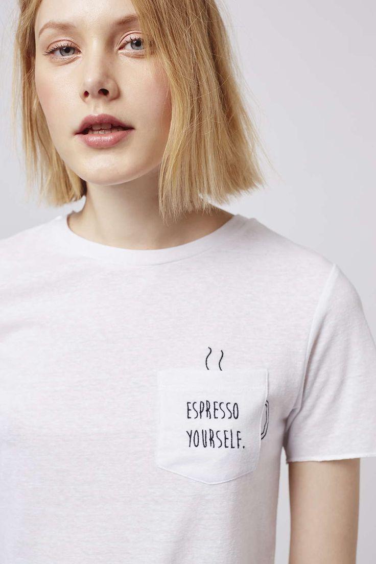 TALL Espresso Yourself Tee