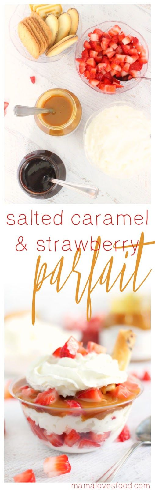 Salted Caramel Covered Strawberries Recipe — Dishmaps