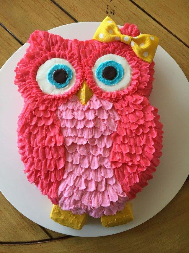 32+ Erstaunliches Bild von Owl Birthday Cake. Eule Geburtstagstorte Pin Hester auf Größe …   – Birthday Cake Designs