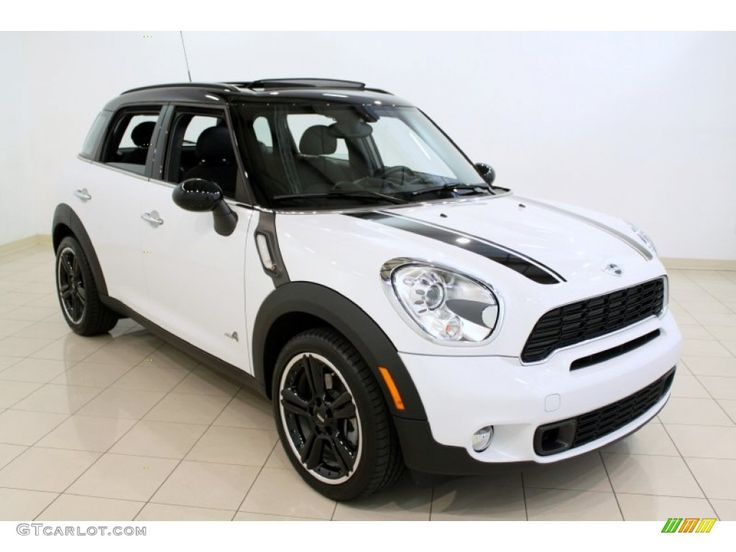white mini Cooper | 2011 Light White Mini Cooper S Countryman All4 AWD #52547792 Photo #22 ...