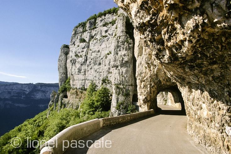 Route de Combe-Laval - Royans
