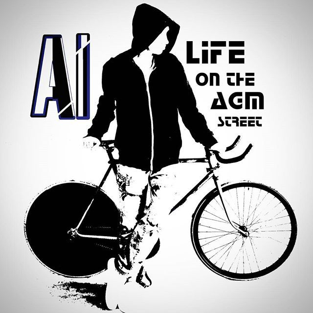#mi #mylife #mywork #vk #al #agm #street #fixie #fixedgear #newlogo #logo