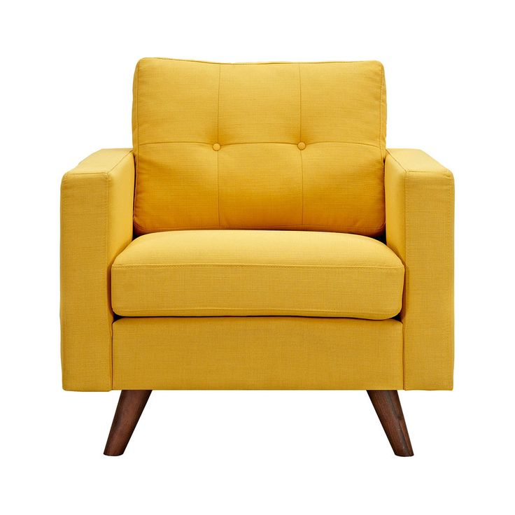 The Graham Armchair in Yellow invites you to sit back and relax. Its clean  lines - Best 25+ Yellow Armchair Ideas On Pinterest Yellow Sofa Design
