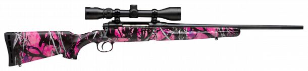 Savage Arms Axis XP Muddy Girl .243 Winchester hunting rifle...yup!