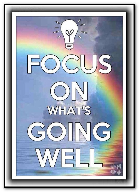 Focus on what's going WELL~~*Abraham-Hicks Quote. Www.myMobileMoneyBlog.com