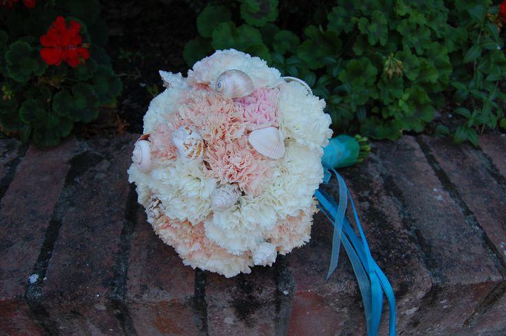 carnations & shells