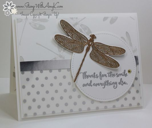 Stampin' Up! Dragonfly Dreams for the Happy Inkin' Thursday Blog Hop