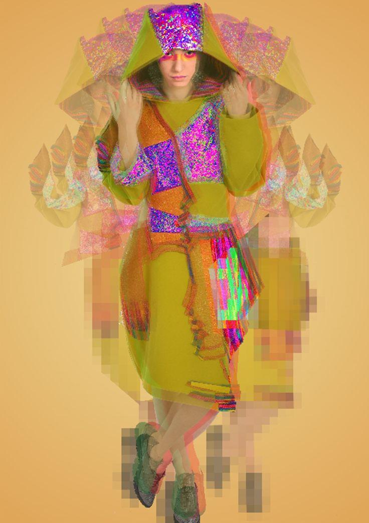 Design & concept: Sabina Dudu Coordinator Professor: Ioana Sanda Avram Model: Sabina Dudu Photo credits: Vad Urziceanu
