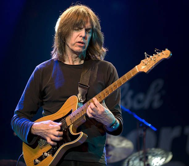 Mike Stern performs on stage during the North Sea Jazz Festival at Ahoy on July 11 2010 in Rotterdam Netherlands He plays a Yamaha guitar #YamahaGuitars