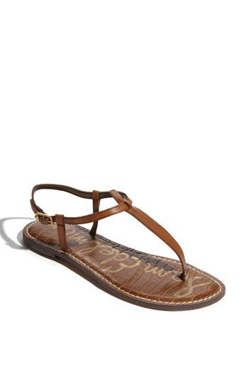 Sam Edelman 'Gigi' Sandal | Saddle Leather | Nordstrom