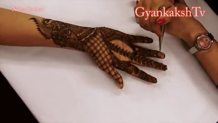 Step By Step Beautiful and Easy Full Hand Mehndi Designs For Hands For E...