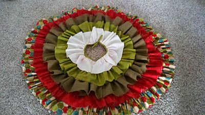 ruffle tree skirt tut