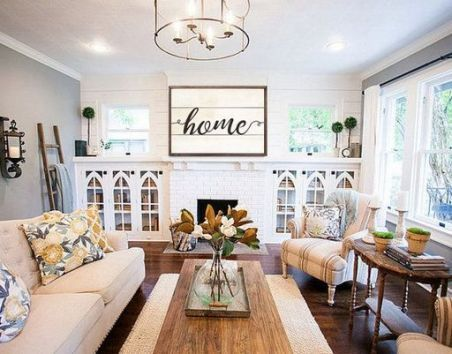 Farmhouse Living Room Joanna Gaines – 7+ Amazing F…