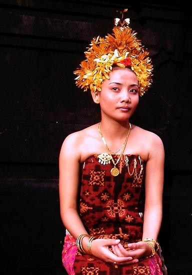 Gringsing Textiles.  Tenganan, Bali por JonathaninBali