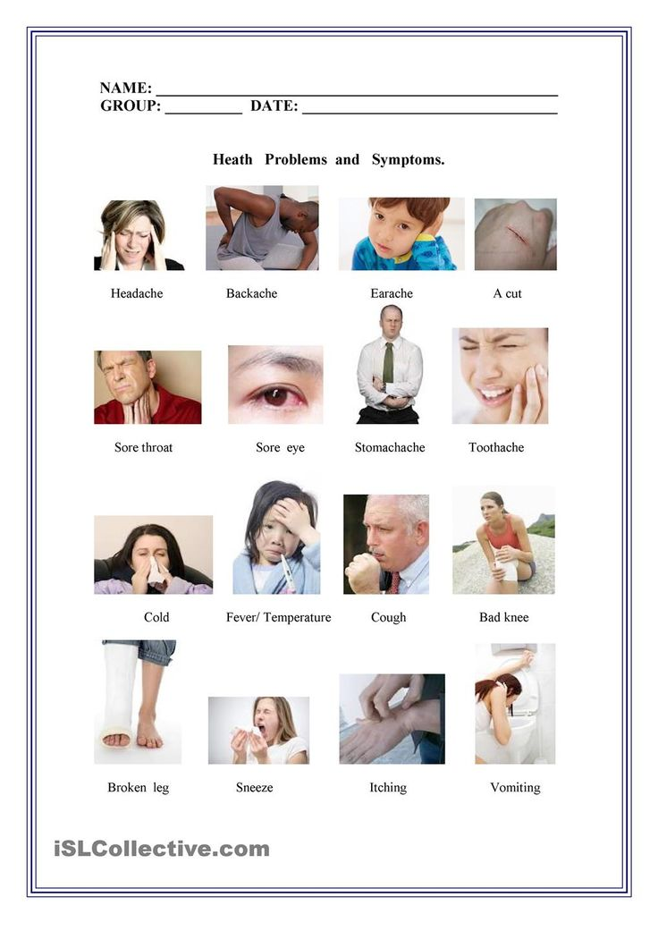 Ailments and diseases