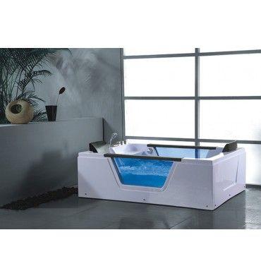 Baignoire balneo rioda pour deux 180 130 cm soldes d - Soldes baignoire balneo ...