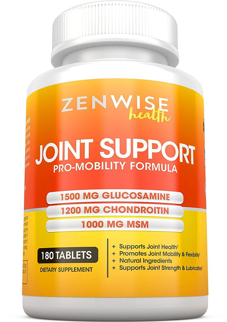 glucosamine tablets for knee pain