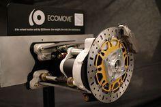 all-in-one wheel motor